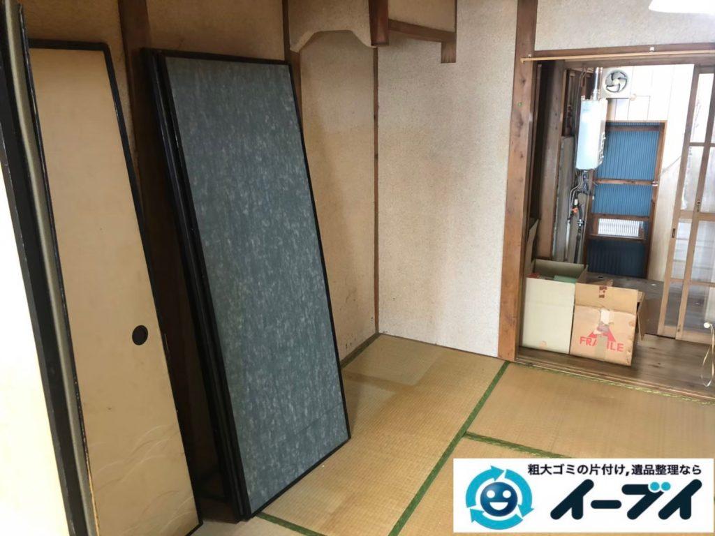 2020年8月13日大阪府大阪市城東区で長年住んだお家の、家財道具を一式処分させていただきました。写真4