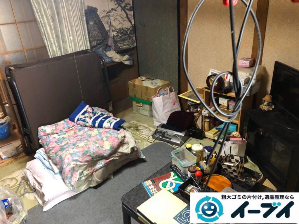 2020年8月13日大阪府大阪市城東区で長年住んだお家の、家財道具を一式処分させていただきました。写真1