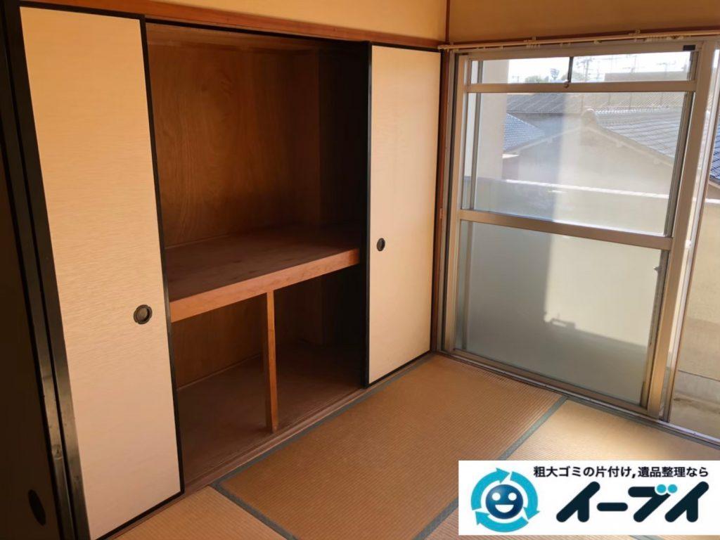2020年8月26日大阪府大阪市平野区で退居に伴い、お家の残置物を不用品回収させていただきました。写真4