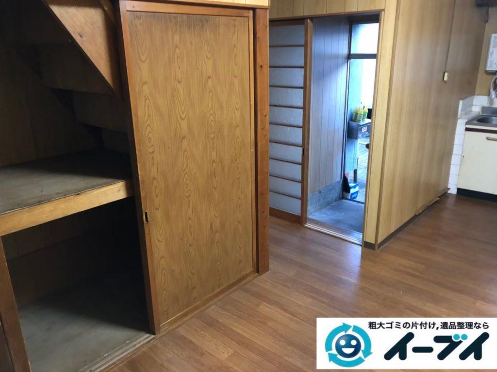 2020年9月3日大阪府大阪市淀川区で家財道具を一式処分の不用品回収をさせていただきました。写真3