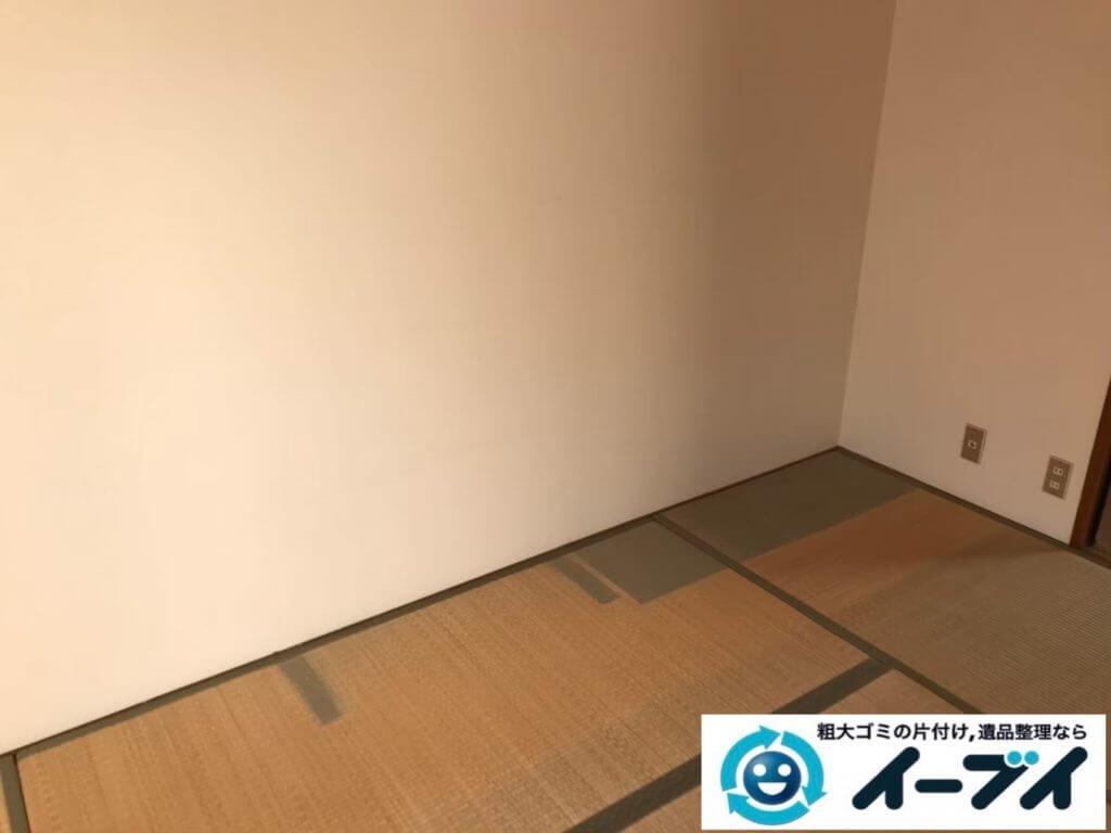 2020年9月9日大阪府大阪市西区で整理箪笥の大型家具、冷蔵庫の大型家電の粗大ゴミ処分をさせていただきました。写真4