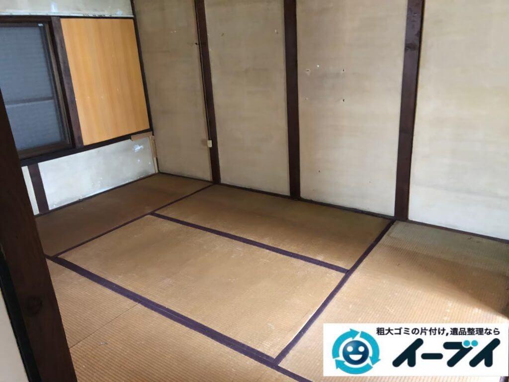 2020年9月17日大阪府大阪市都島区で遺品整理に伴い、お家の家財道具を一式処分させていただきました。写真4