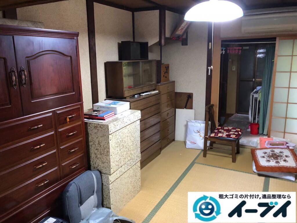 2020年9月15日大阪府大阪市西淀川区で遺品整理に伴い、お家の家財道具を一式処分させていただきました。写真3