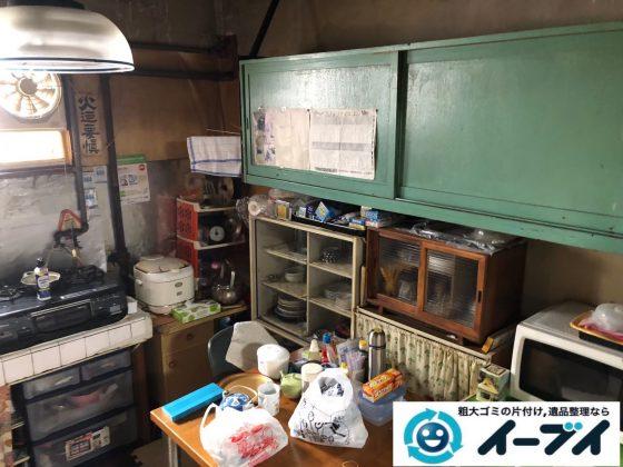 2020年9月11日大阪府大阪市西成区で長年使用した台所を片付けさせていただきました。写真3