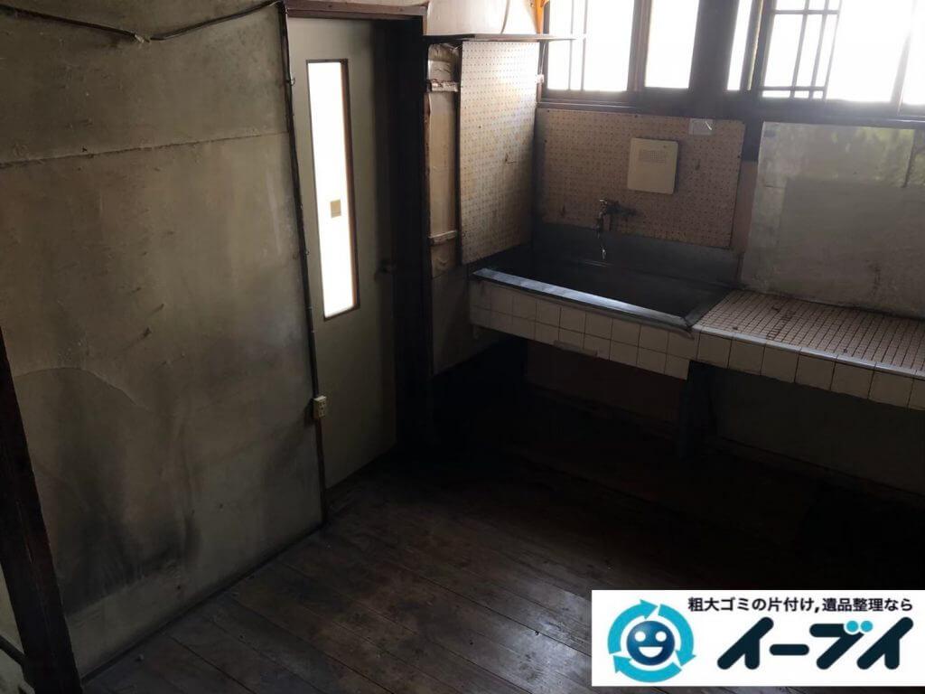 2020年9月11日大阪府大阪市西成区で長年使用した台所を片付けさせていただきました。写真2