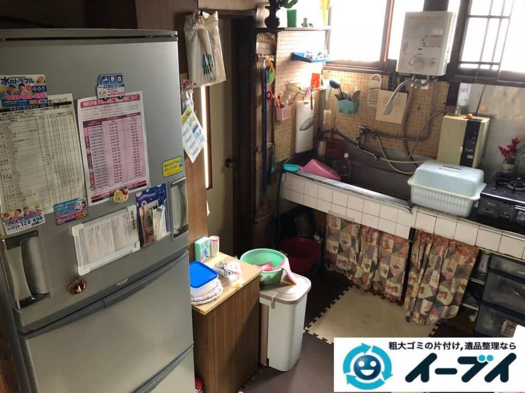 2020年9月11日大阪府大阪市西成区で長年使用した台所を片付けさせていただきました。写真1