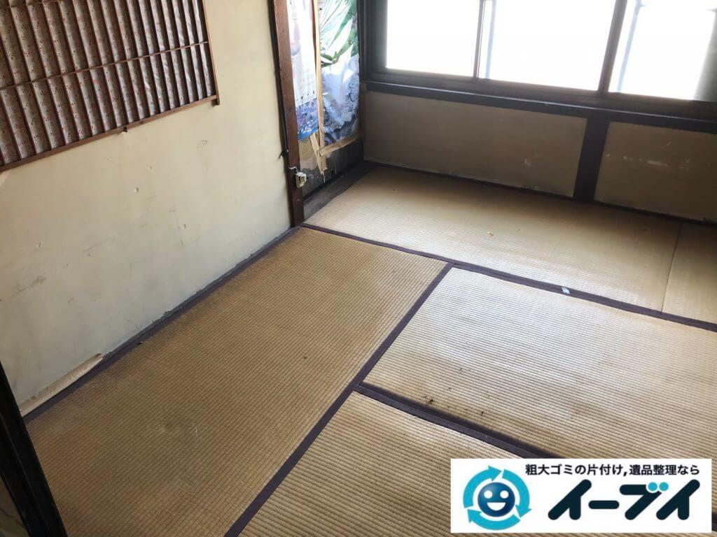 2020年9月17日大阪府大阪市都島区で遺品整理に伴い、お家の家財道具を一式処分させていただきました。写真2