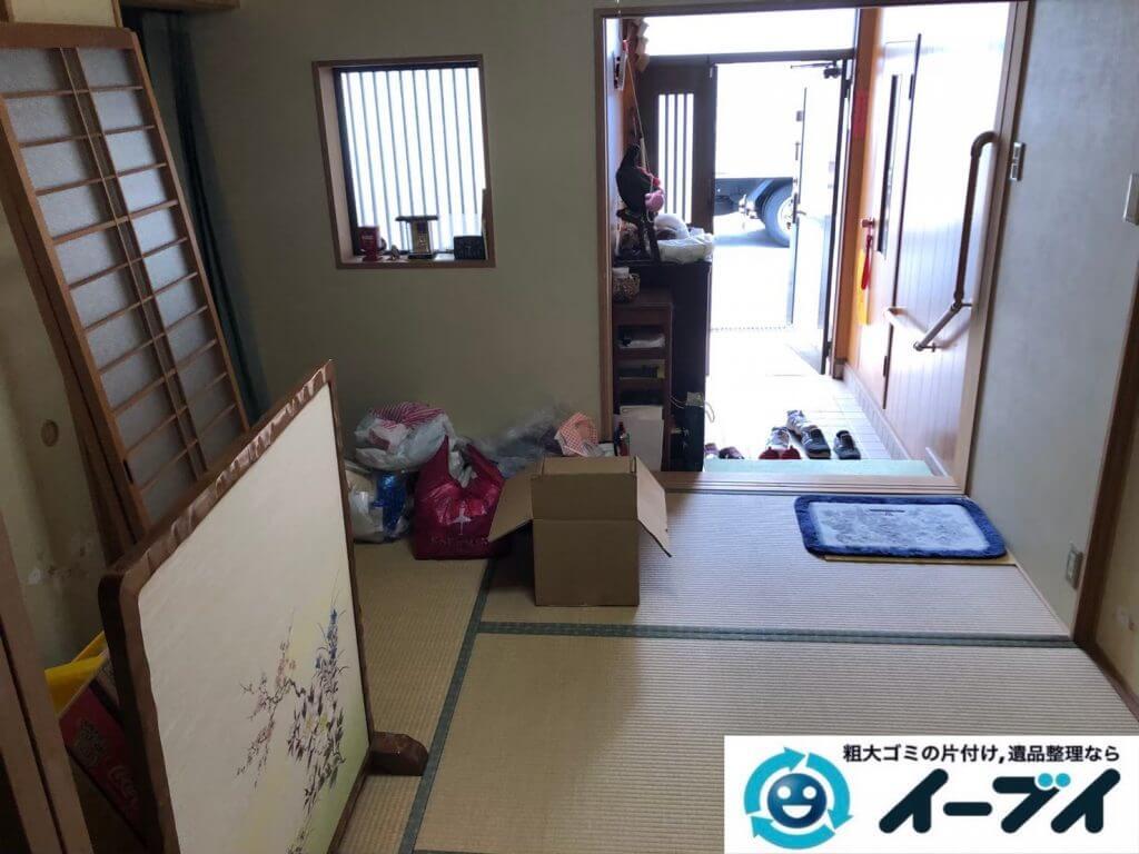 2020年9月14日大阪府大阪狭山市でお家の家財道具を一式処分させていただきました。写真2