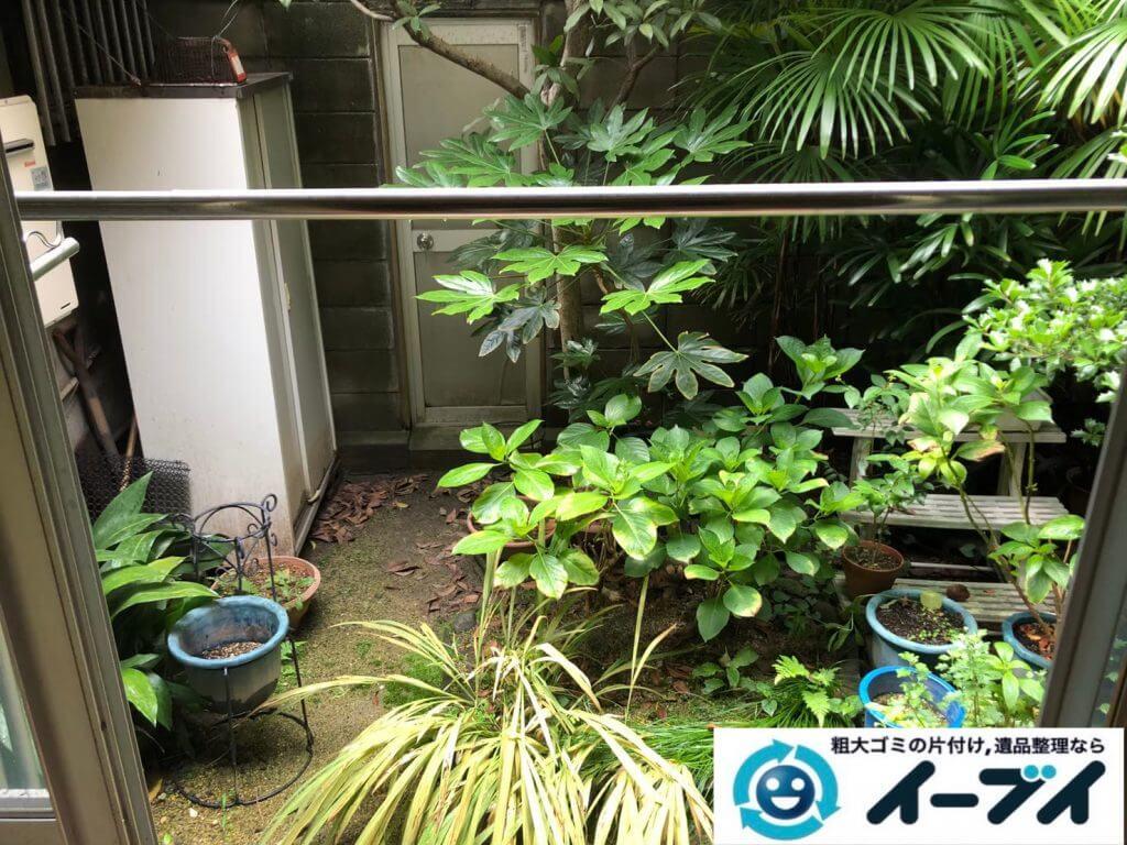 2020年9月14日大阪府大阪狭山市でお家の家財道具を一式処分させていただきました。写真1