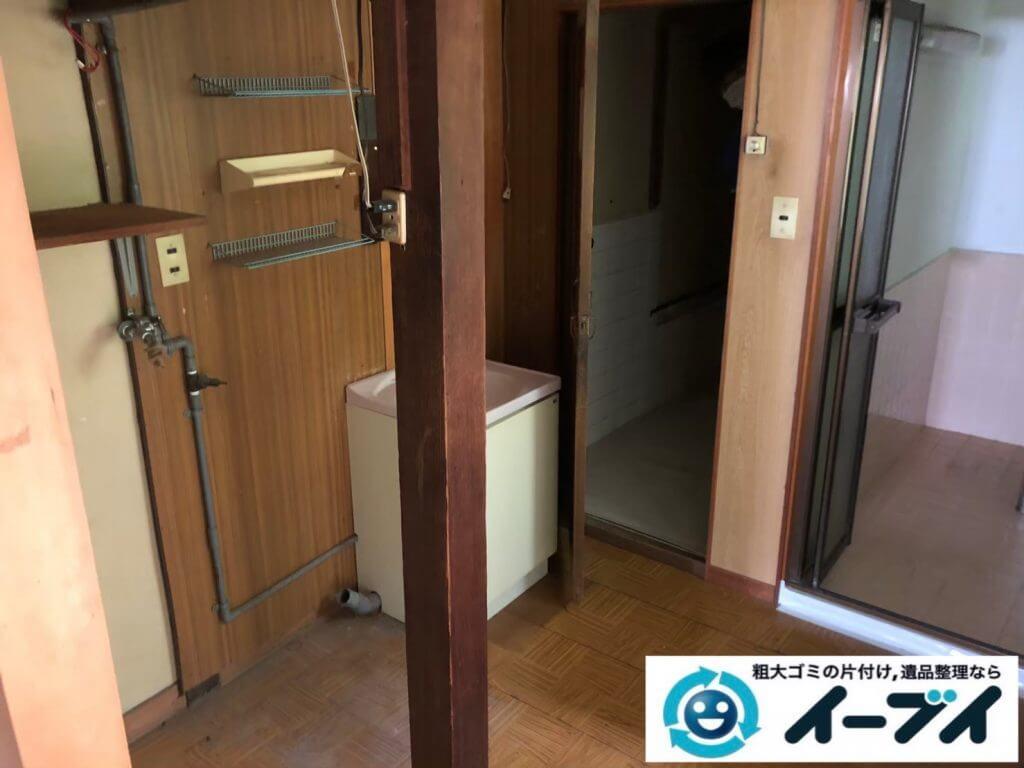 2020年9月10日大阪府大阪市阿倍野区で退居に伴い、お家の家財道具を一式処分させていただきました。写真4