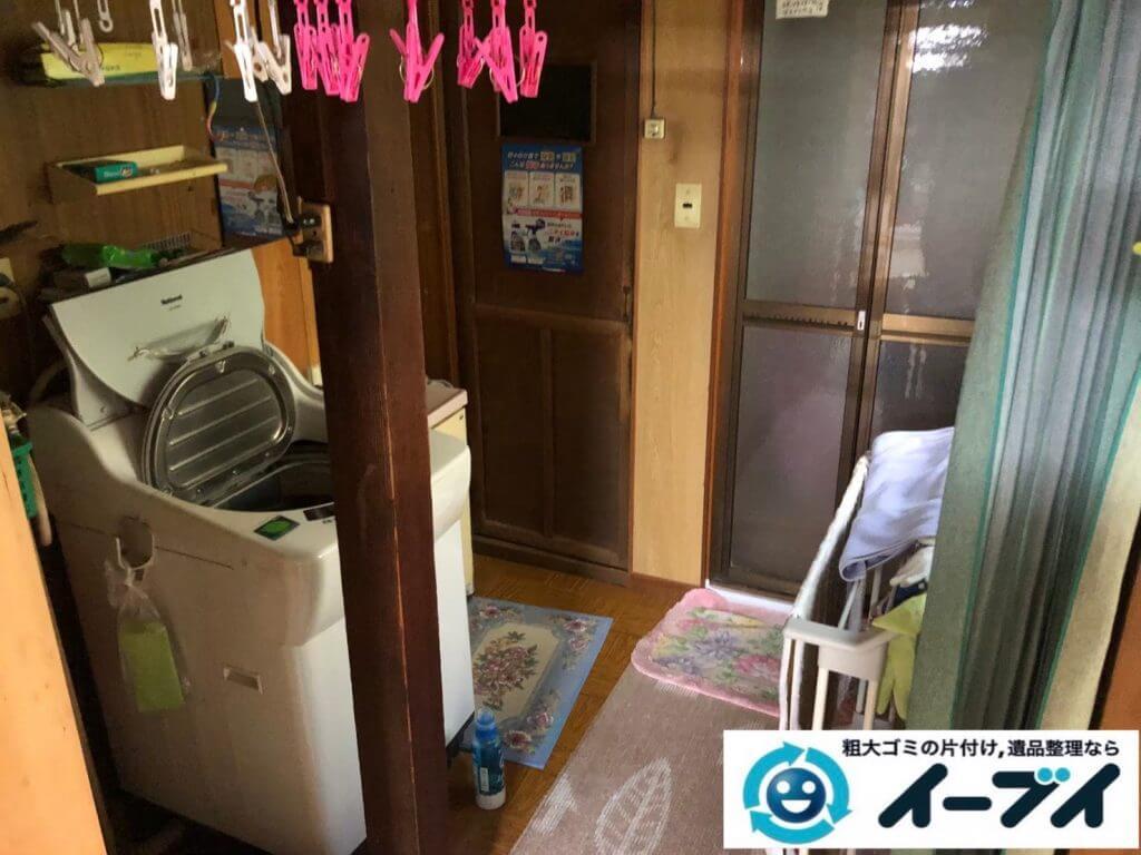 2020年9月10日大阪府大阪市阿倍野区で退居に伴い、お家の家財道具を一式処分させていただきました。写真3