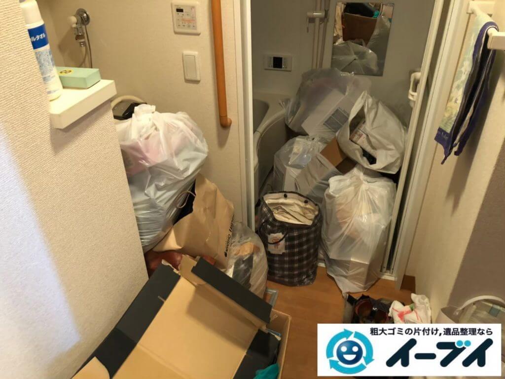 2020年9月18日大阪府守口市でゴミ屋敷化した汚部屋の片付けをさせていただきました。写真3