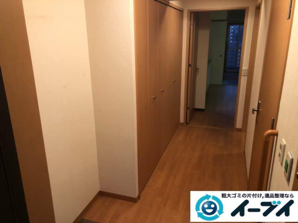 2020年9月18日大阪府守口市でゴミ屋敷化した汚部屋の片付けをさせていただきました。写真2