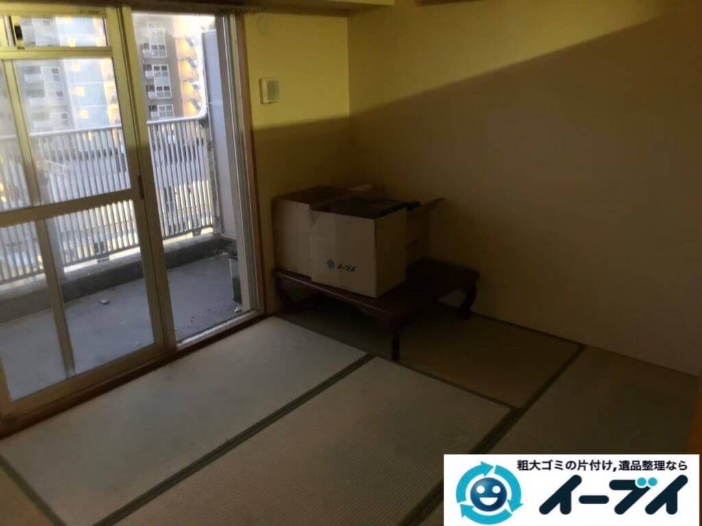 2020年9月23日大阪府富田林市でお家に物やゴミが散乱しゴミ屋敷化した汚部屋の片付け作業です。写真4