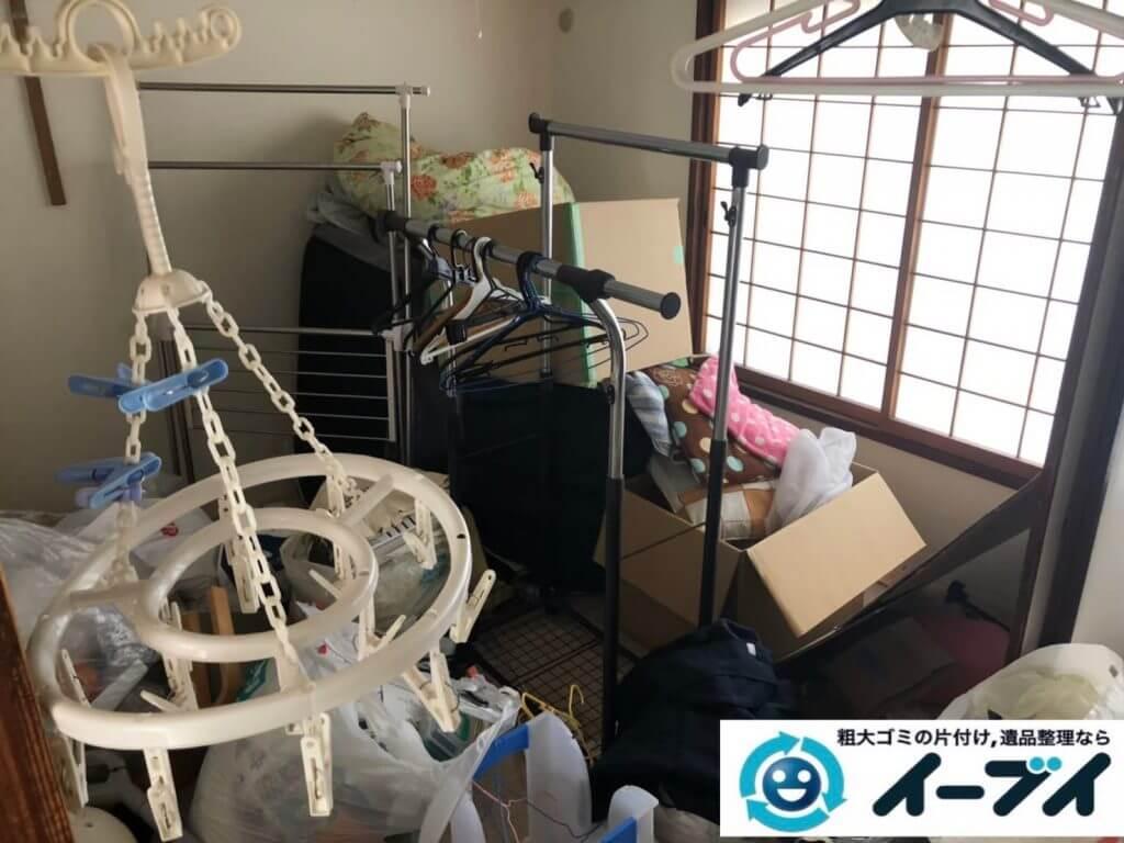 2020年9月29日大阪府島本市で引越し後に残った、引越しゴミの不用品回収をさせていただきました。写真3