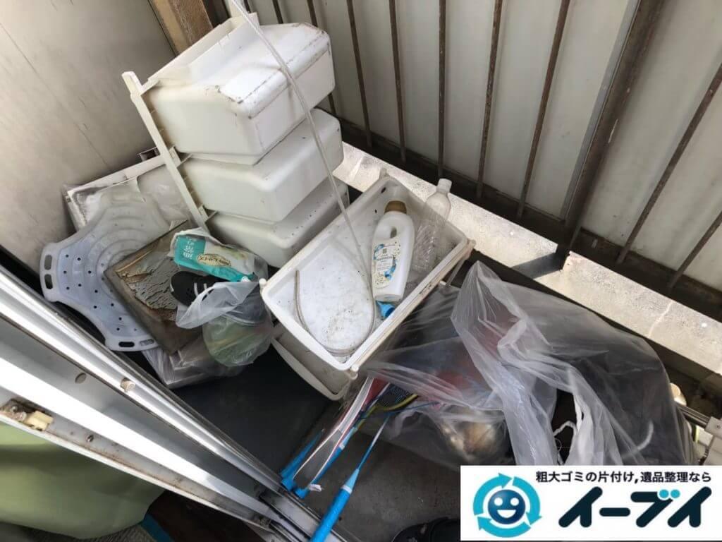 2020年9月25日大阪府岸和田市でゴミ屋敷化したお家の片付け作業です。写真3