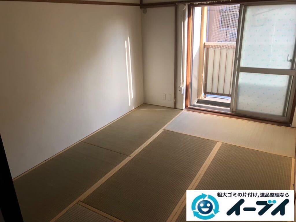 2020年9月28日大阪府摂津市で生活用品や生活ゴミが散乱し、ゴミ屋敷化した汚部屋の片付け作業です。写真4