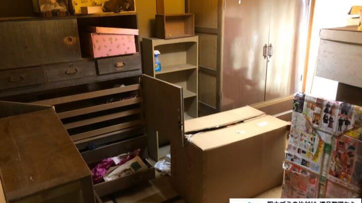 2020年10月6日大阪府忠岡市で婚礼家具や食器棚の大型家具の不用品回収です。写真4