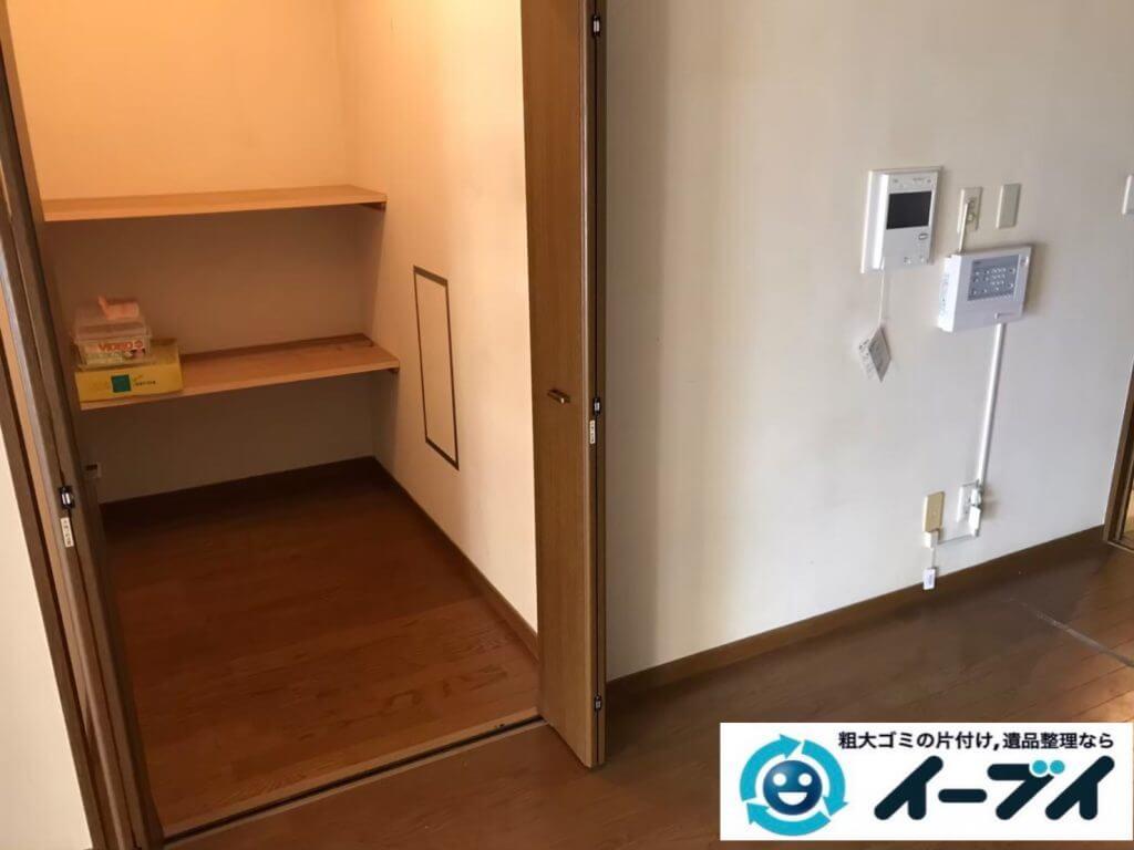 2020年10月13日大阪府柏原市でゴミ屋敷化した汚部屋の片付け作業です。写真4