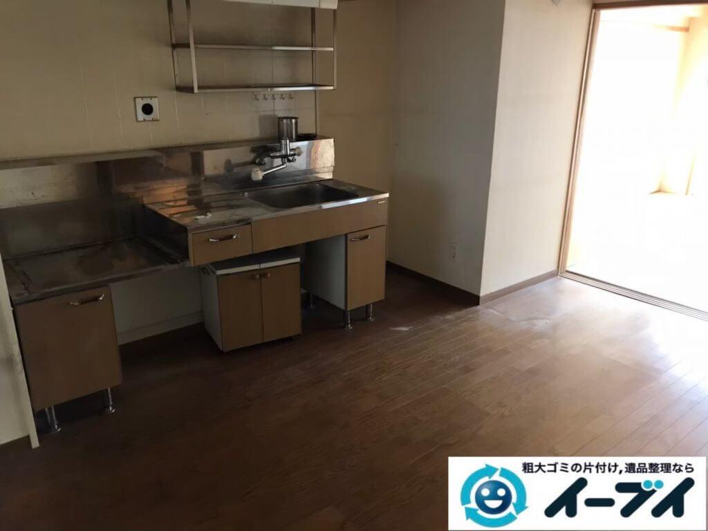 2020年10月13日大阪府柏原市でゴミ屋敷化した汚部屋の片付け作業です。写真2