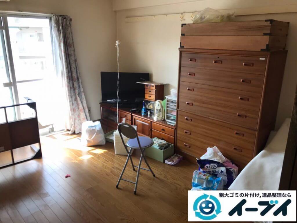 2020年10月14日大阪府池田市で引越しに伴い、お家の家財道具を一式処分させていただきました。写真3