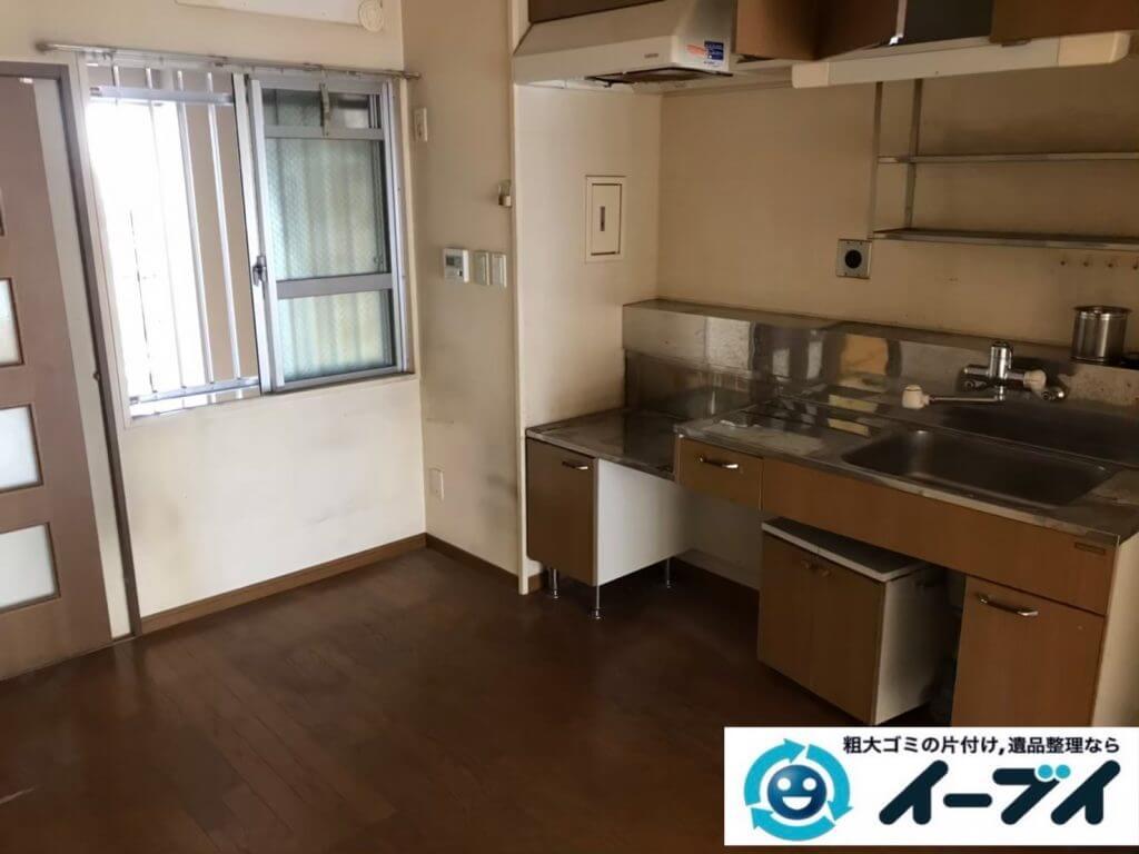 2020年10月14日大阪府池田市で引越しに伴い、お家の家財道具を一式処分させていただきました。写真2