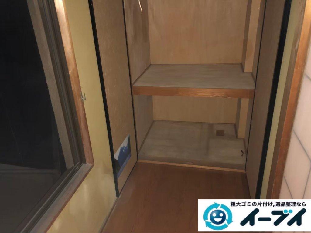2020年10月28日大阪府泉大津市で不用品が溜まったお部屋の片付けです。写真4