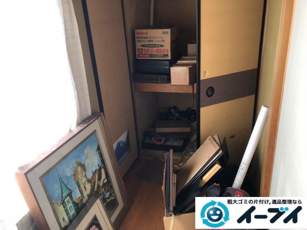 2020年10月28日大阪府泉大津市で不用品が溜まったお部屋の片付けです。写真3