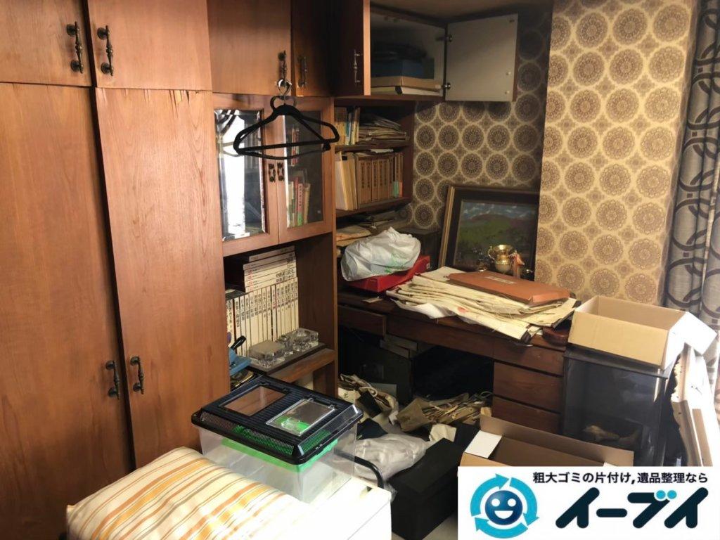 2020年10月30日大阪府熊取町で退去と同時にお家の残置物を不用品回収させていただきました。写真3