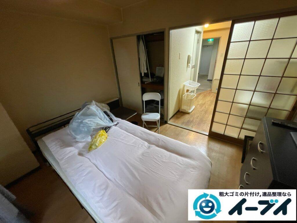 2021年2月24日大阪府吹田市で施設に入居されるため、お家の家財道具を一式処分させていただきました。写真4