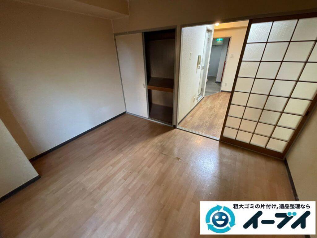 2021年2月24日大阪府吹田市で施設に入居されるため、お家の家財道具を一式処分させていただきました。写真3