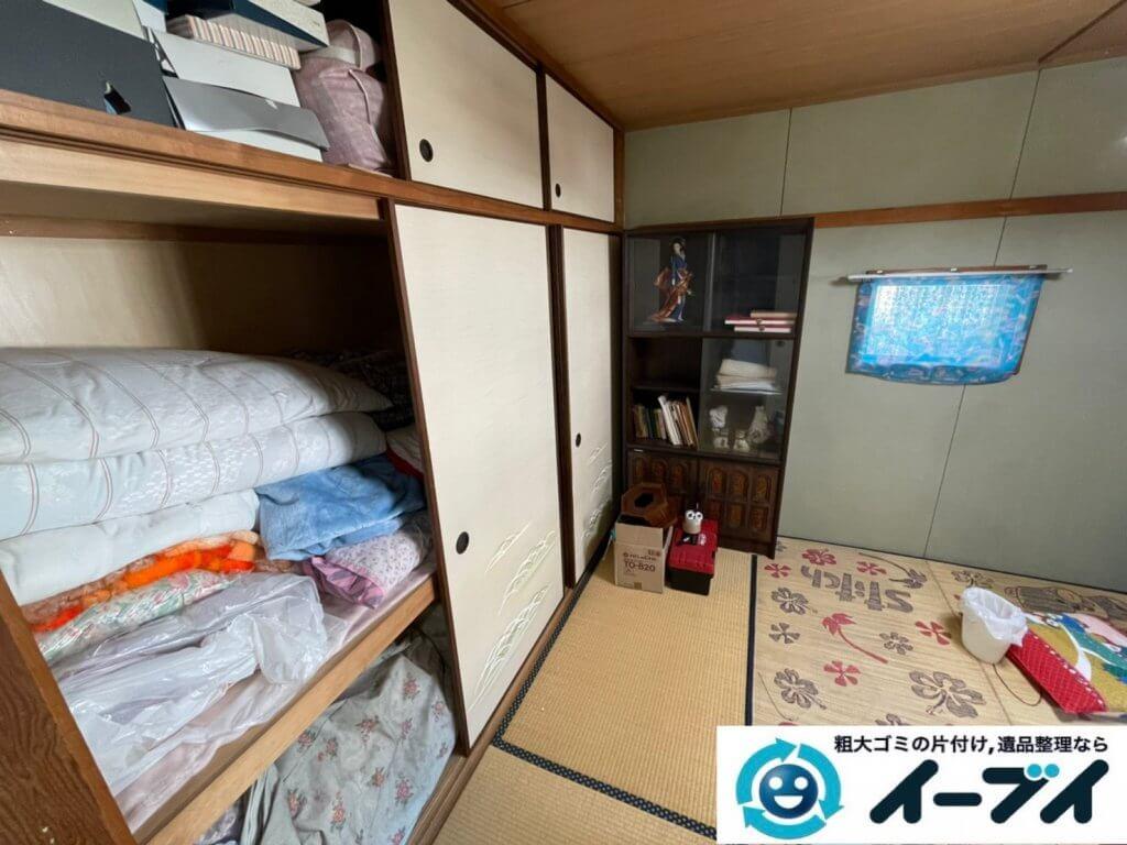 2021年2月18日大阪府豊中市で退去に伴いお家の家財道具の一式処分。写真6