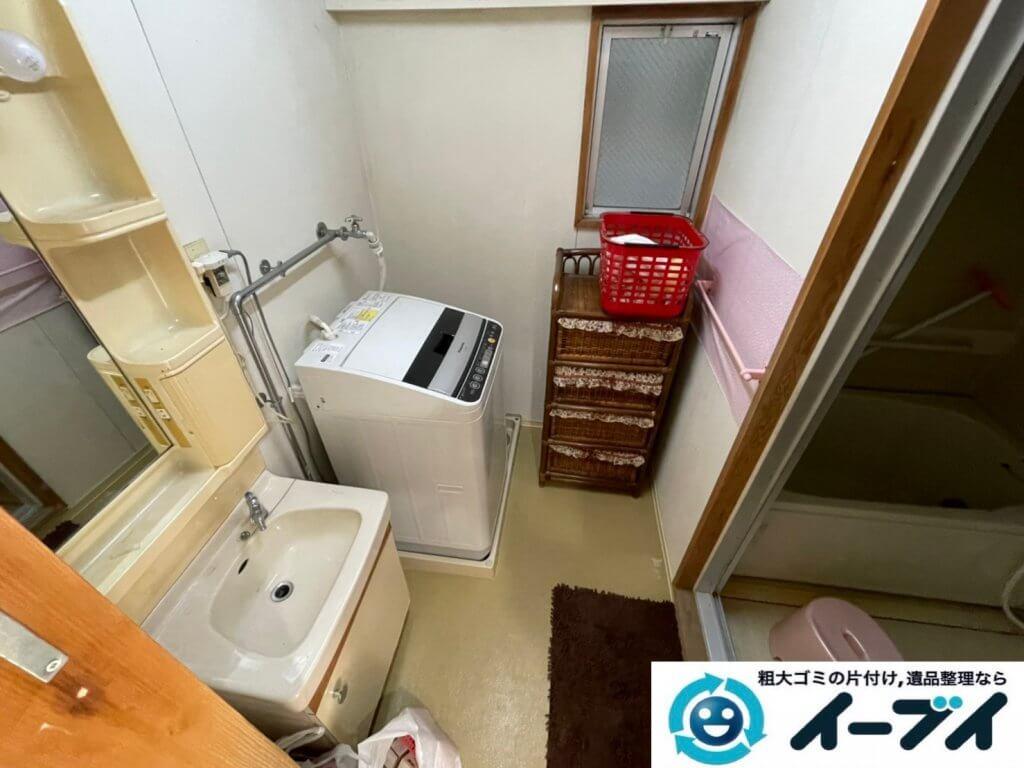 2021年2月18日大阪府豊中市で退去に伴いお家の家財道具の一式処分。写真4