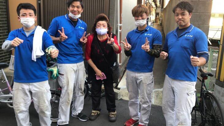 2021年2月27日大阪府大阪市大正区でお部屋の退去にあたり、不用品の処分でイーブイをご利用して頂きました。