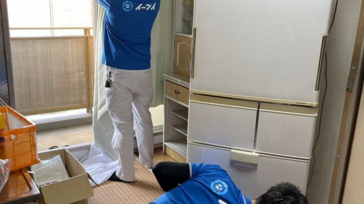 2021年3月20日大阪府和泉市で施設に入居するため、お家の家財道具を一式処分させていただきました。写真6