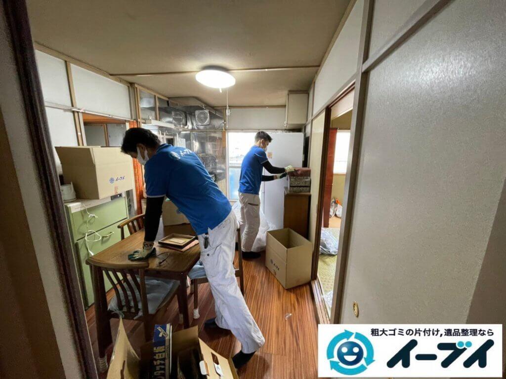 2021年3月20日大阪府和泉市で施設に入居するため、お家の家財道具を一式処分させていただきました。写真5