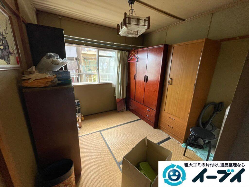 2021年3月20日大阪府和泉市で施設に入居するため、お家の家財道具を一式処分させていただきました。写真3