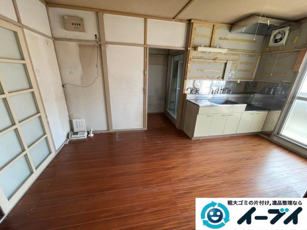 2021年3月20日大阪府和泉市で施設に入居するため、お家の家財道具を一式処分させていただきました。写真2