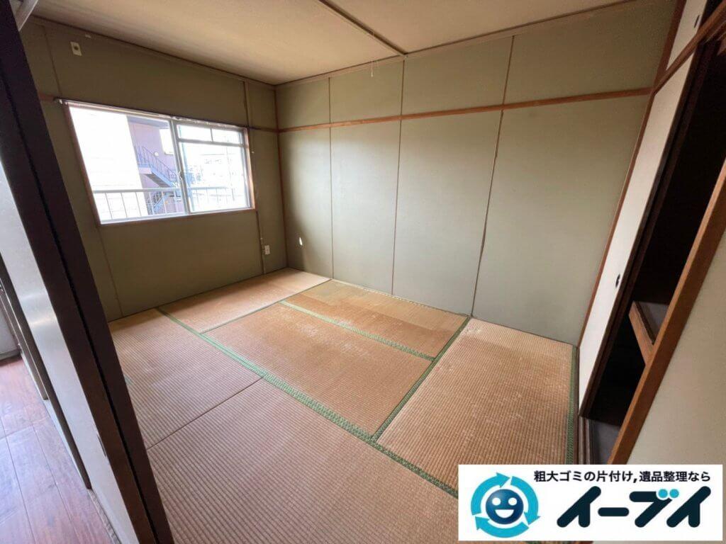 2021年3月26日大阪府四条畷市でお家の家財道具を全処分したいというご依頼をいただきました。写真1