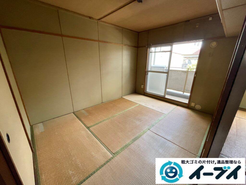 2021年3月26日大阪府四条畷市でお家の家財道具を全処分したいというご依頼をいただきました。写真3