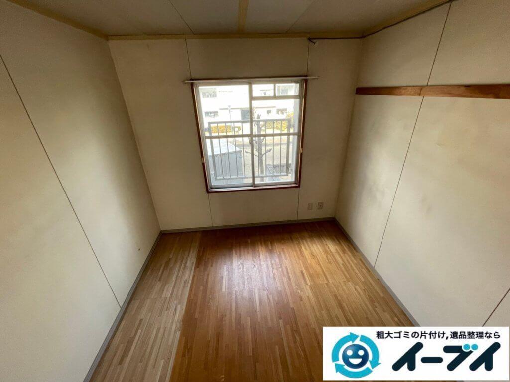 2021年4月2日大阪府堺市中区でお家の家財道具を一式処分させていただきました。写真1
