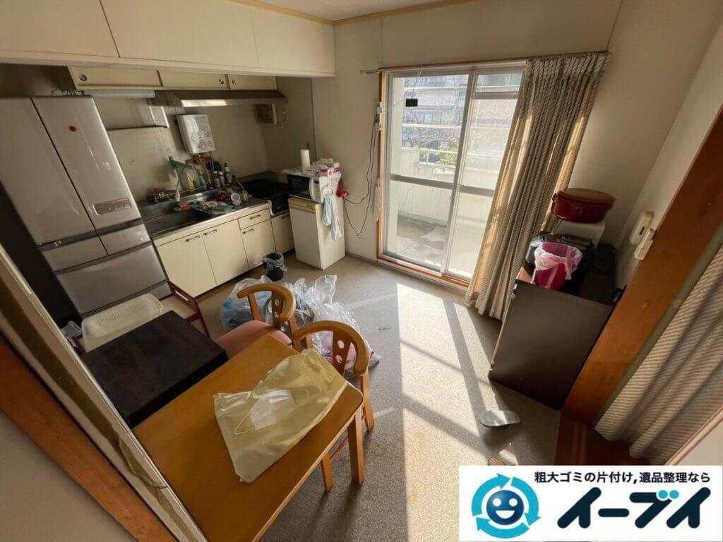 2021年4月2日大阪府堺市中区でお家の家財道具を一式処分させていただきました。写真6