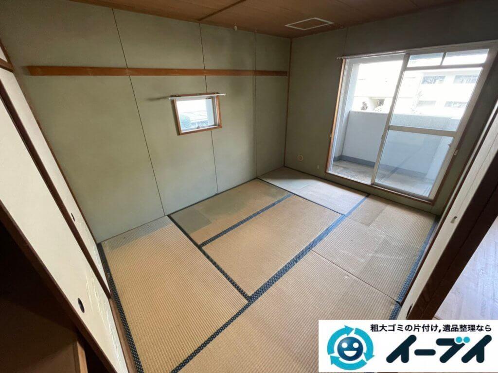 2021年4月2日大阪府堺市中区でお家の家財道具を一式処分させていただきました。写真3