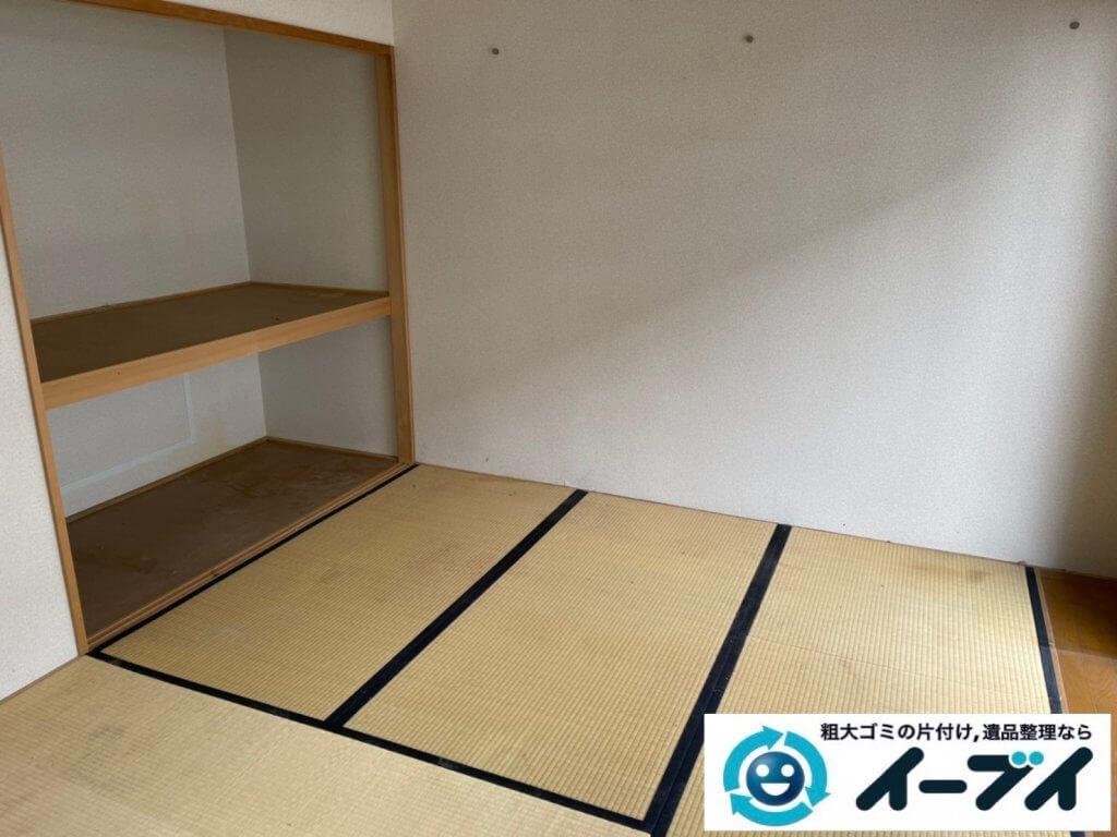 2021年4月8日大阪府堺市北区でマンション一室を片付けさせていただきました。写真2