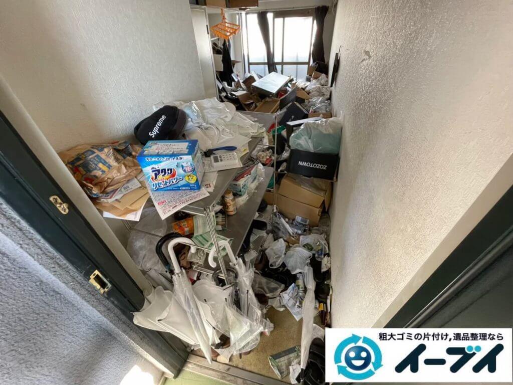 2021年4月12日大阪府堺市堺区でゴミ屋敷化したマンション一室の片付けをさせていただきました。写真11