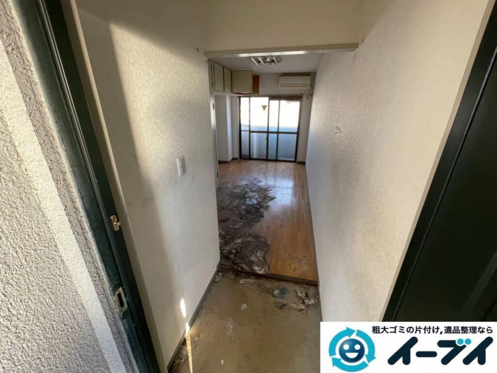 2021年4月12日大阪府堺市堺区でゴミ屋敷化したマンション一室の片付けをさせていただきました。写真10