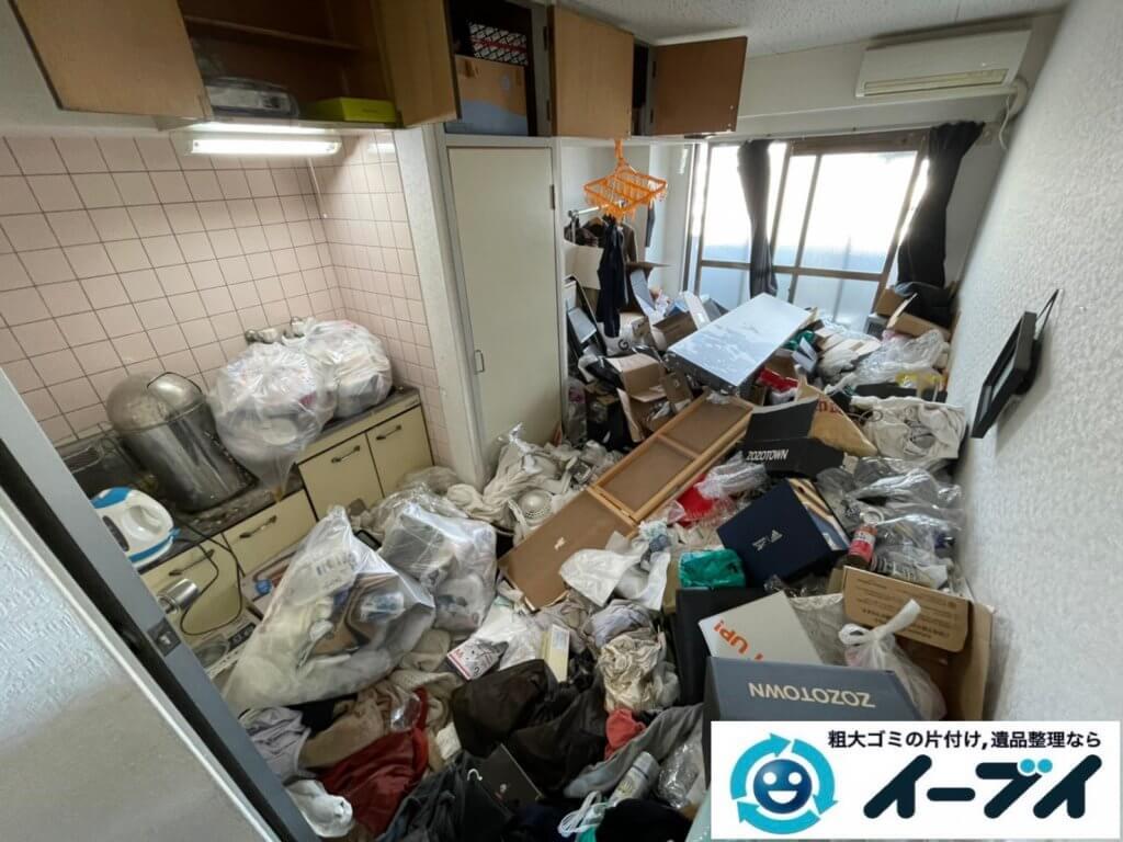 2021年4月12日大阪府堺市堺区でゴミ屋敷化したマンション一室の片付けをさせていただきました。写真9