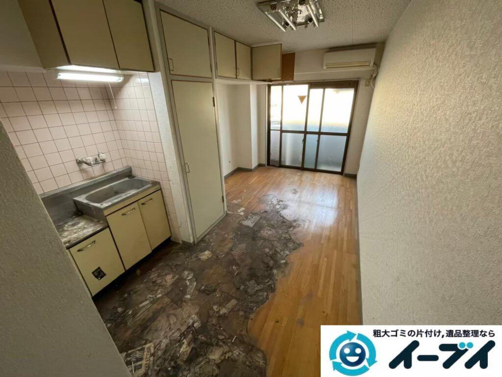 2021年4月12日大阪府堺市堺区でゴミ屋敷化したマンション一室の片付けをさせていただきました。写真8