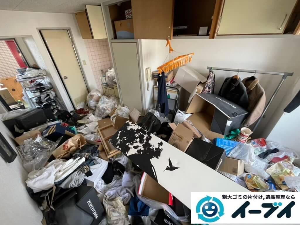 2021年4月12日大阪府堺市堺区でゴミ屋敷化したマンション一室の片付けをさせていただきました。写真7