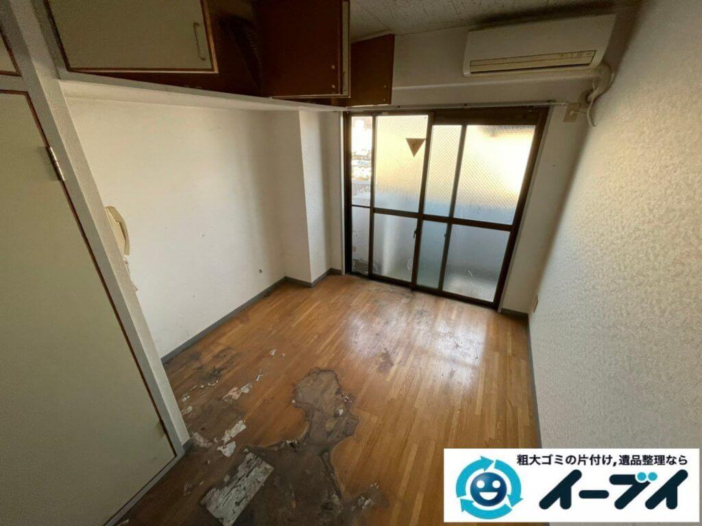 2021年4月12日大阪府堺市堺区でゴミ屋敷化したマンション一室の片付けをさせていただきました。写真4